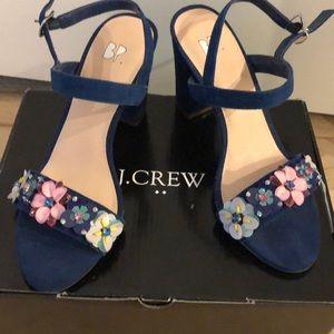 Shoes - New Blue Suede Block Heel